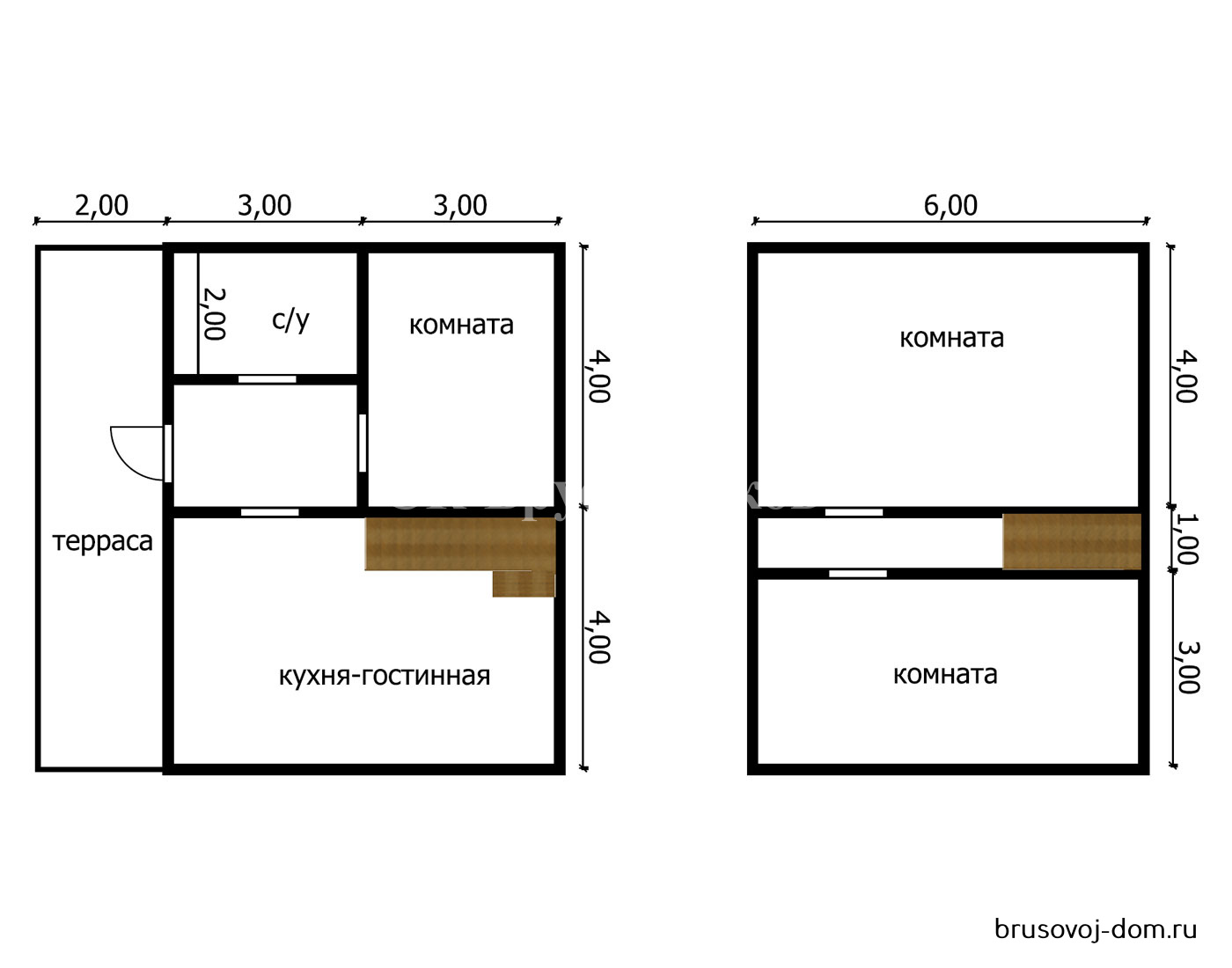 Дом под усадку 8х8 м не дорого Тосно